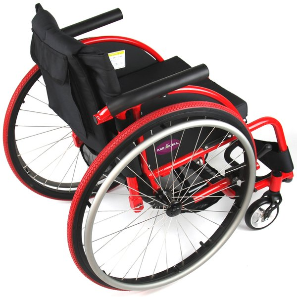車椅子 自走式 スポーツ 車イス カドクラ KADOKURA ターゲット A707|xenashopping|05
