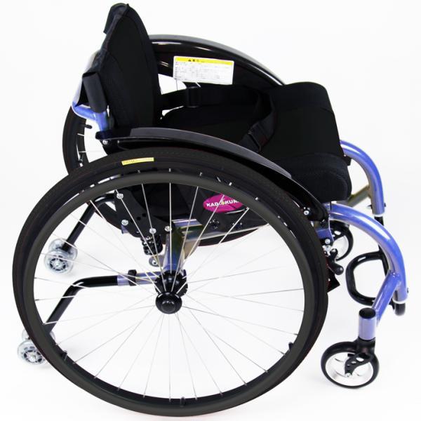 車椅子 自走式 スポーツ 車イス カドクラ KADOKURA アテネ A708|xenashopping|04