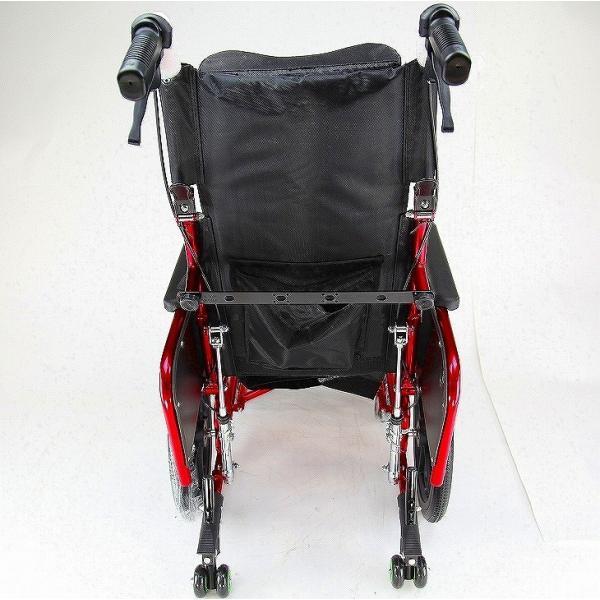 車椅子 全3色 リクライニング 車イス 送料無料 カドクラ KADOKURA アポロン レッド A801-RD|xenashopping|06