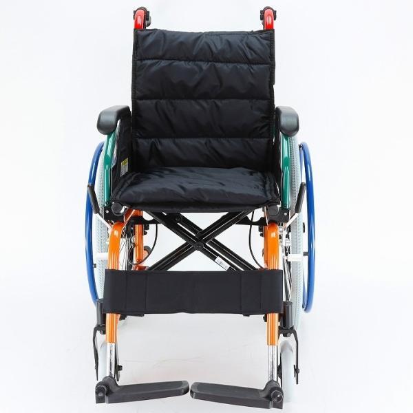車椅子 自走用 自走式 車イス 軽量 折り畳み 多機能 送料無料 カドクラ KADOKURA スニーカー B104−AS カラフル|xenashopping|05