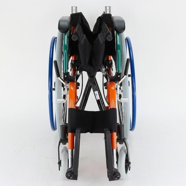 車椅子 自走用 自走式 車イス 軽量 折り畳み 多機能 送料無料 カドクラ KADOKURA スニーカー B104−AS カラフル|xenashopping|07
