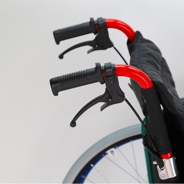 車椅子 自走用 自走式 車イス 軽量 折り畳み 多機能 送料無料 カドクラ KADOKURA スニーカー B104−AS カラフル|xenashopping|08