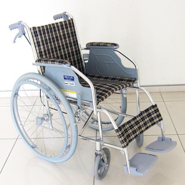 車椅子 自走用 自走式 車イス 送料無料 カドクラ KADOKURA ファンライト B105−AF xenashopping 02