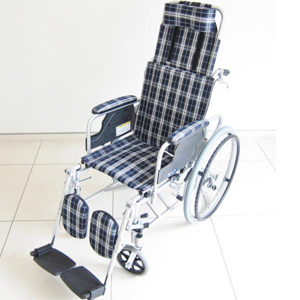 車椅子 リクライニング 車イス 送料無料 カドクラ KADOKURA ガーデン B201−AG|xenashopping|04