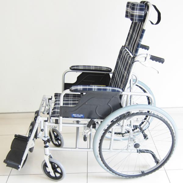 車椅子 リクライニング 車イス 送料無料 カドクラ KADOKURA ガーデン B201−AG|xenashopping|05