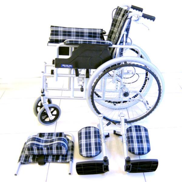車椅子 リクライニング 車イス 送料無料 カドクラ KADOKURA ガーデン B201−AG|xenashopping|08
