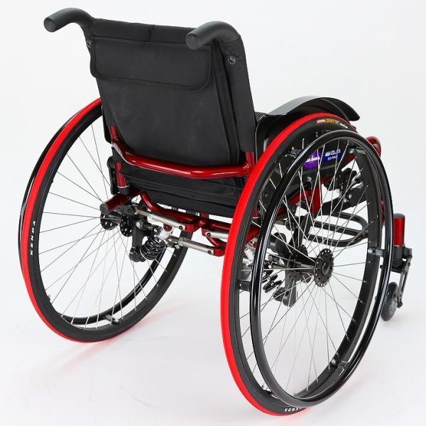 車椅子 自走式 スポーツ 車イス カドクラ KADOKURA スクーデリア B406|xenashopping|09