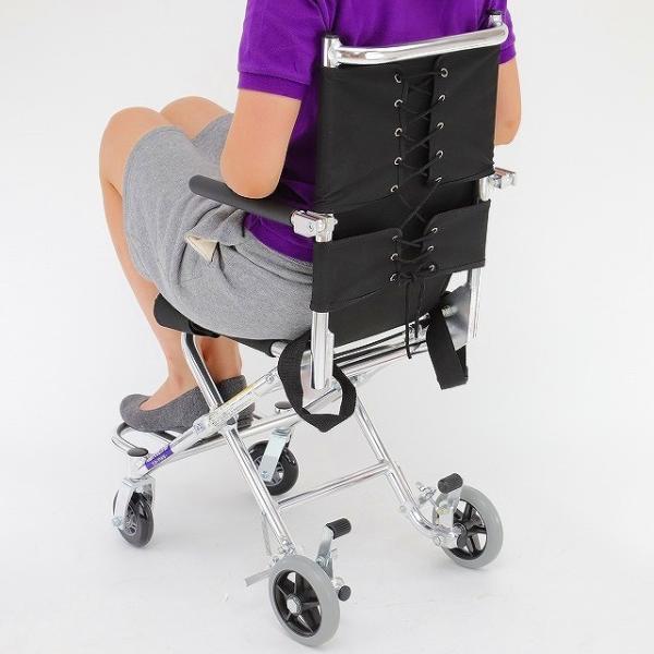 車椅子 簡易 旅行用 介助式 介助用 子供用 車イス 超軽量 送料無料 カドクラ KADOKURA ポケッタ B503-AP xenashopping 11