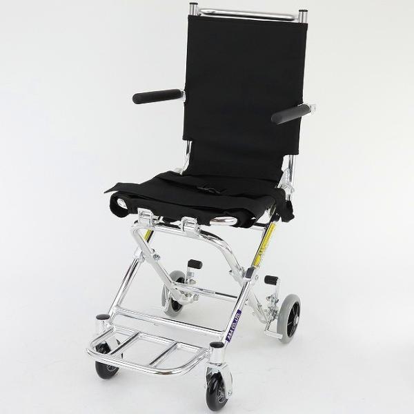 車椅子 簡易 旅行用 子供用 車イス 超軽量 送料無料 カドクラ KADOKURA ポケッタ B503-AP|xenashopping|03