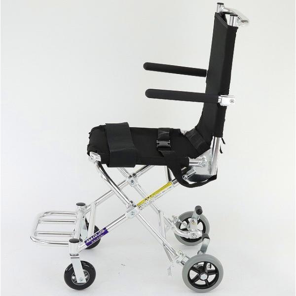 車椅子 簡易 旅行用 子供用 車イス 超軽量 送料無料 カドクラ KADOKURA ポケッタ B503-AP|xenashopping|06