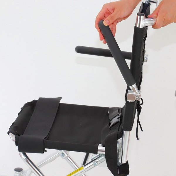 車椅子 簡易 旅行用 介助式 介助用 子供用 車イス 超軽量 送料無料 カドクラ KADOKURA ポケッタ B503-AP xenashopping 07