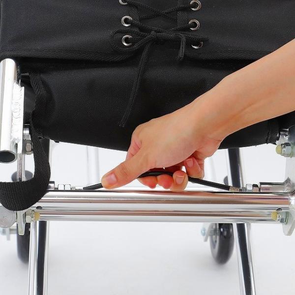 車椅子 簡易 旅行用 介助式 介助用 子供用 車イス 超軽量 送料無料 カドクラ KADOKURA ポケッタ B503-AP xenashopping 09