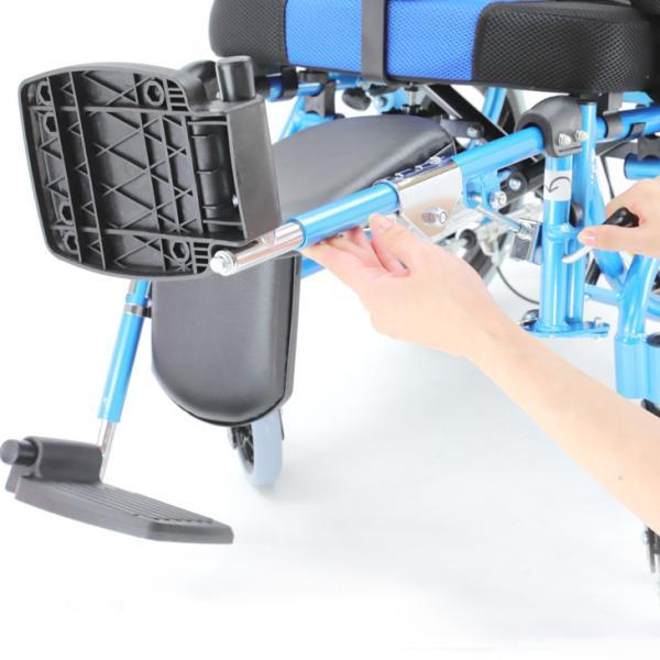 車椅子 リクライニング 車イス 送料無料 カドクラ KADOKURA スムーバ C701-A |xenashopping|09