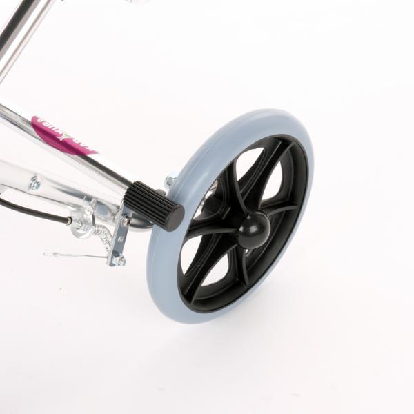 車椅子 全4色 簡易 車イス 介助用 介助式 送料無料 カドクラ KADOKURA カットビー レッド E101-AR|xenashopping|09