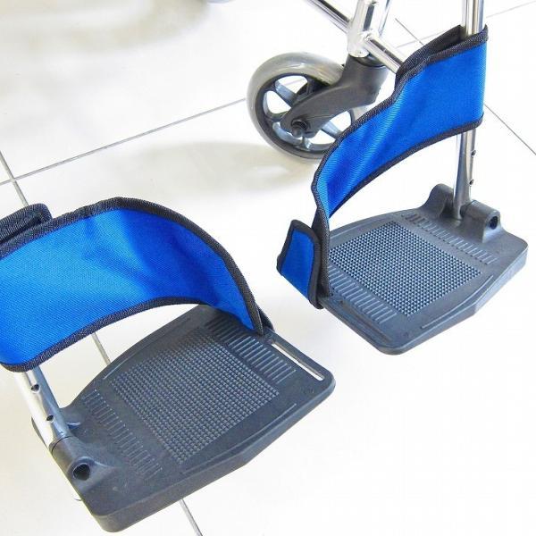 車椅子 介助用 介助式 車イス 送料無料 ワイド カドクラ KADOKURA ポテト F301-B|xenashopping|06