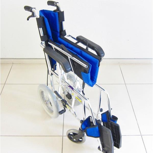 車椅子 介助用 介助式 車イス 送料無料 ワイド カドクラ KADOKURA ポテト F301-B|xenashopping|07