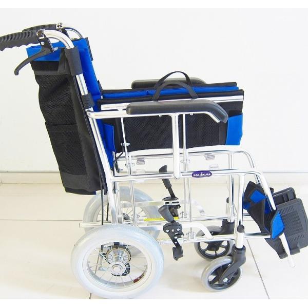 車椅子 介助用 介助式 車イス 送料無料 ワイド カドクラ KADOKURA ポテト F301-B|xenashopping|08