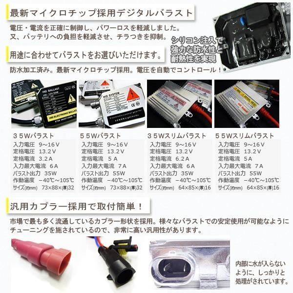 【送料無料・1ヶ月保証】HIDフルキット H3A/H3C兼用(超ショートタイプ)バルブ14mm ワット数/ケルビン数自由選択|xenonshop|03