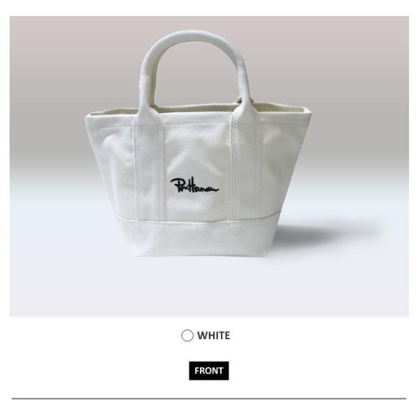 【レビュー書いて送料無料】Ron Herman ロンハーマン ミニトートバッグ / トート ユニセックス  ロゴ 刺繍 3色【ブラック / ホワイト/ネイビー】|xenonshop|04