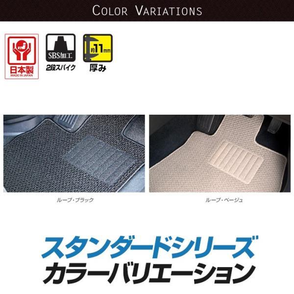 ホンダ NVAN N-VAN エヌバン フロアマット カーマット 平成30年7月〜 AT車 全席1台分 xmat 04