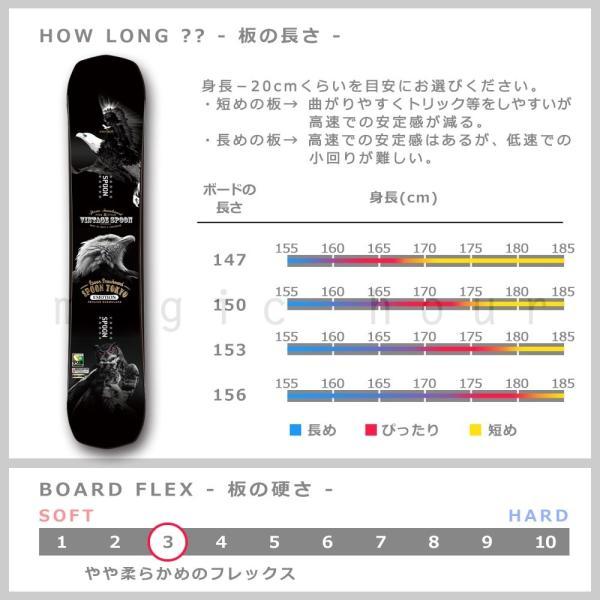 スノーボード 板 メンズ 単品  SPOON スプーン EMOTION スノボー 初心者 グラトリ ハイブリッド キャンバー ボード ツインチップ 軽量 柔らかい 黒 おしゃれ|xover-int|03