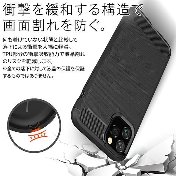 iPhone11 Pro iPhone11 Pro Max カーボン調TPUケースTPUケース