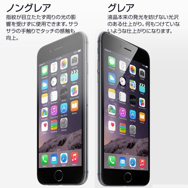 iPhone6PLUS 液晶保護フィルム 光沢|非光沢