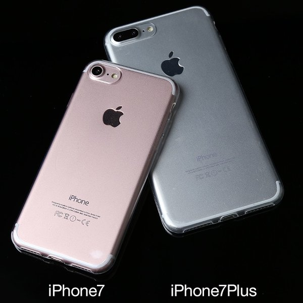 iPhone7 iPhone7Plus TPUクリアケース