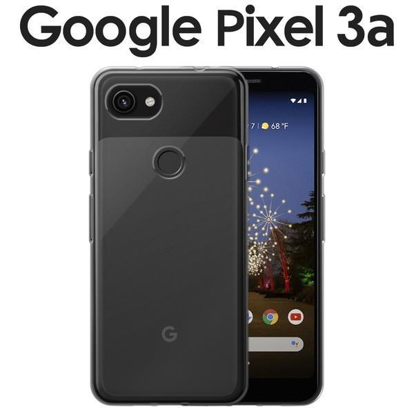 Pixel 3a TPU クリアケース