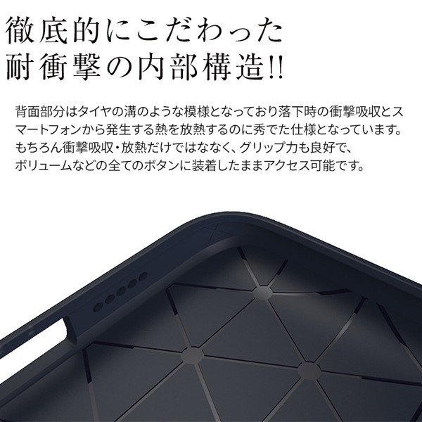 Xperia XZ3 SO-01L SOV39 レザー調TPUケース