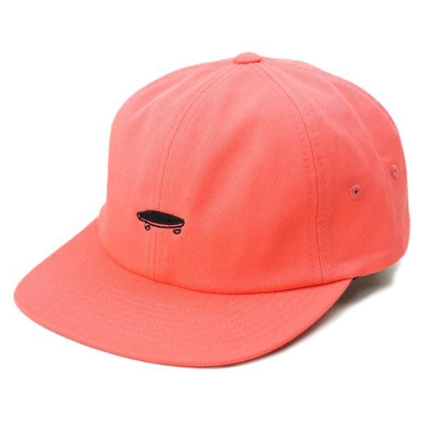 ecfa3f28fa825 バンズVANS ヴァンズ男女兼用 帽子 キャップSALTON II CAPサルトン II キャップCORAL(コーラル