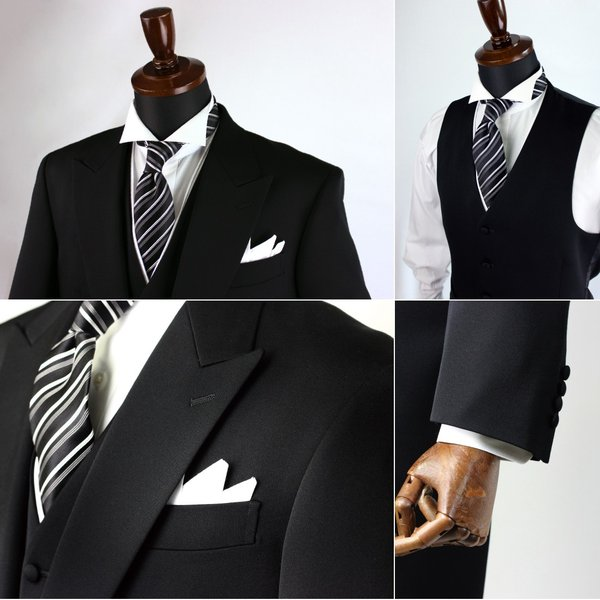 モーニングレンタル セット フォーマル 日本製 結婚式 披露宴 おしゃれ DORMEUIL ドーメル レンタル|y-and-tailor|04