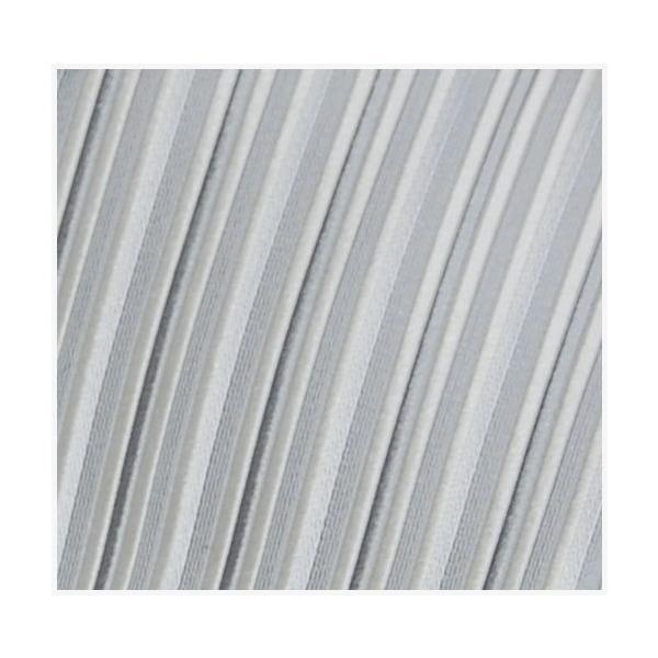 ネクタイ 結婚式 メンズ シルク シルバー系 変わりストライプ ネクタイ&ポケットチーフセット 選べる幅 フォーマル 礼装|y-cravat-ueda|05