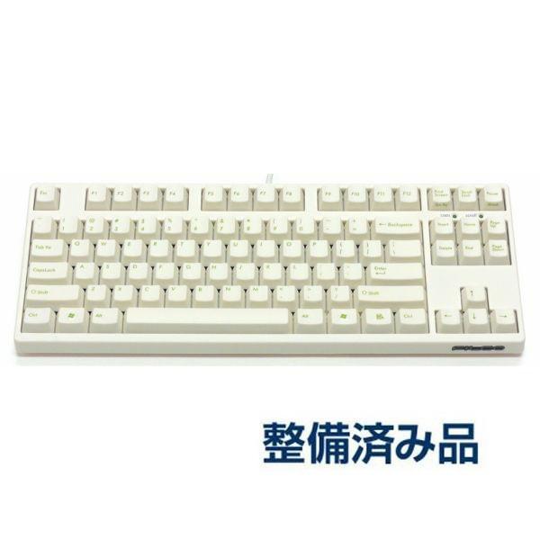 【NEW】FILCO Majestouch 2 Tenkeyless  CherryMX茶軸 英語配列 US ASCII テンキーレス クリームホワイト FKBN87M/ECW2【整備品】|y-diatec