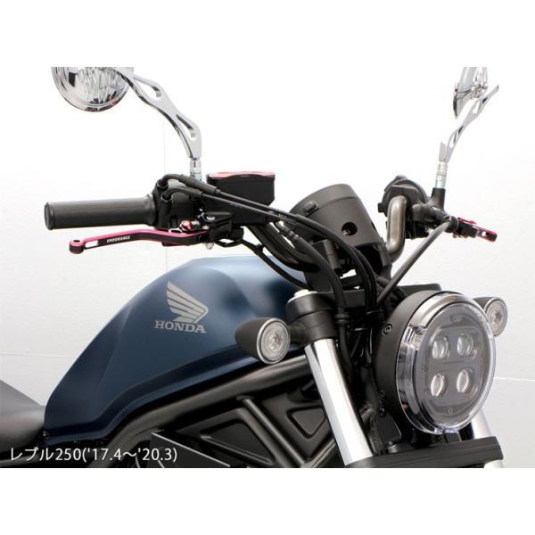 レブル250/500 REBEL250/500 MC49 PC60  ハンドルパイプ (ブラック)|y-endurance|03