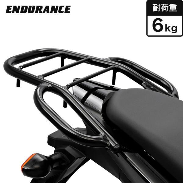 【返品交換不可】【ENDURANCE】CBR400R(〜'16.2月) 400X CB400F タンデムグリップ付きリアキャリア   CAR_ 040CRB_|y-endurance