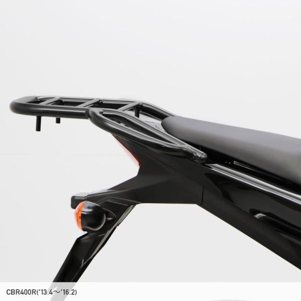 【返品交換不可】【ENDURANCE】CBR400R(〜'16.2月) 400X CB400F タンデムグリップ付きリアキャリア   CAR_ 040CRB_|y-endurance|02