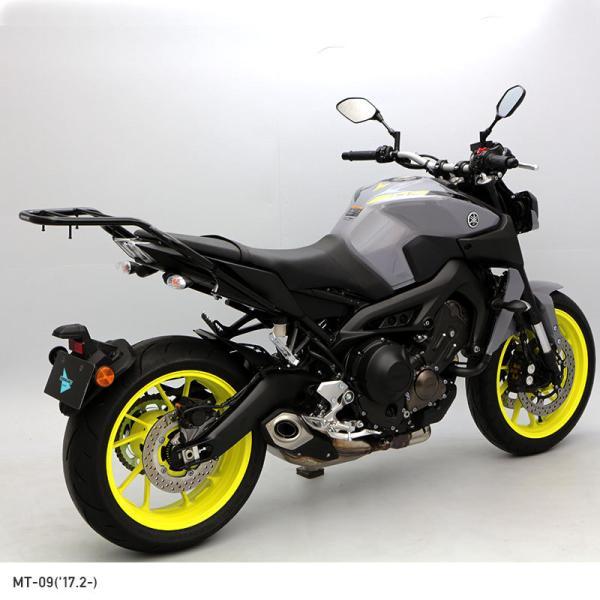 【ENDURANCE】MT-09('14.4〜) MT09 / XSR900 タンデムグリップ付きリアキャリア CAR_|y-endurance|05