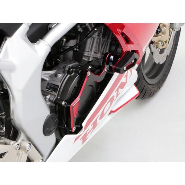 CBR250RR('17.5〜) エンジンスライダーセット(ブラック・レッド)|y-endurance|08