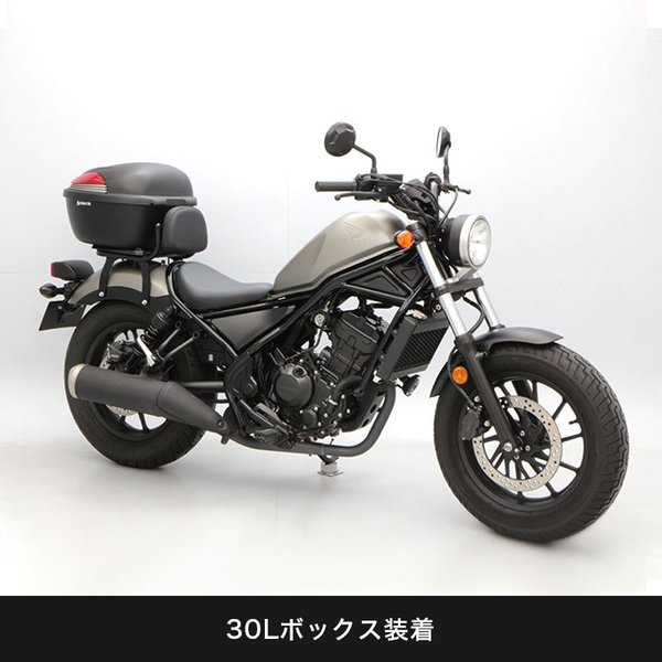【ENDURANCE】 レブル250/500 REBEL250/500 MC49 PC60 リアキャリア バックレスト付き CAR_|y-endurance|05
