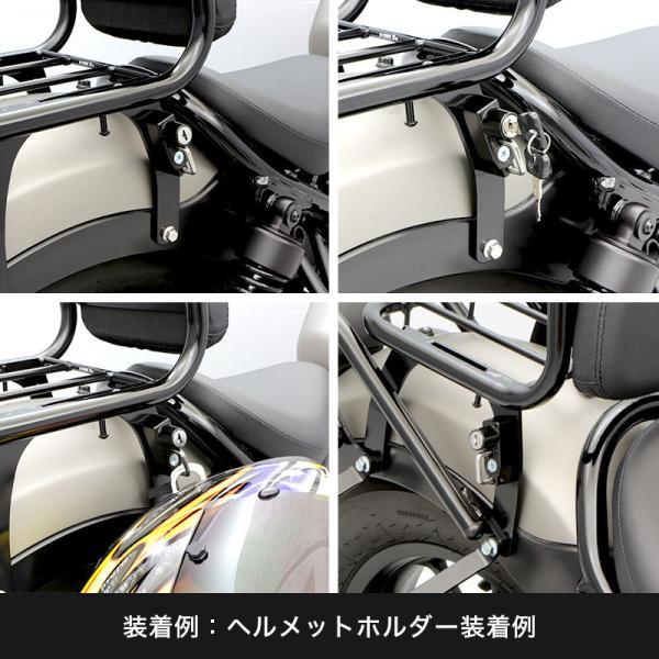 【ENDURANCE】 レブル250/500 REBEL250/500 MC49 PC60 リアキャリア バックレスト付き CAR_|y-endurance|06