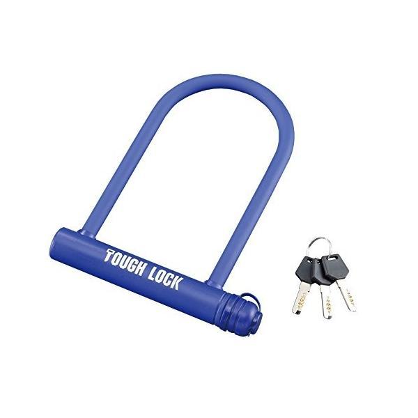 ヤマハ(YAMAHA) バイクロック TOUGH LOCK(タフロック) YL-04 シャックルロック ブルー Q5K-YSK-107-T10|y-evolution