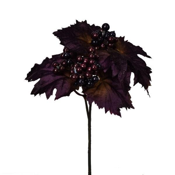 《 クリスマス 造花 葉っぱ 》◆とりよせ品◆Asca ベリーピック