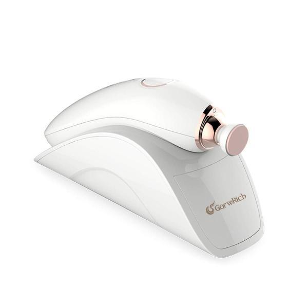 GROWRICH 電動爪切り ネイルケア 爪やすり 爪磨き LEDライト 静音モーター 三段スピード 充電ベース 収納ボックスの中に四種類の研磨ヘッド付き ベビー、子供、|y-k-store