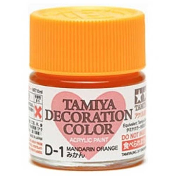 タミヤ TAMIYA デコレーションカラー D−1 みかん デコレカラーD1ミカン