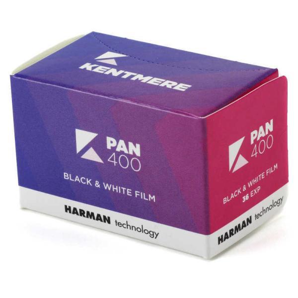 ケントメア 高感度モノクロフィルム Kentmere PAN 400 135-36枚撮り  PAN40013536EX