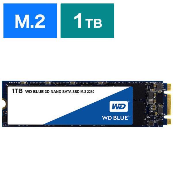 WESTERNDIGITAL内蔵SSD1TBWDBLUE3DNANDSATASSDWDS100T2B0B