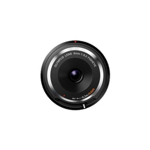 オリンパス フィッシュアイボディーキャップレンズ(9mm F8.0 Fisheye) BCL‐0980 (ブラック)