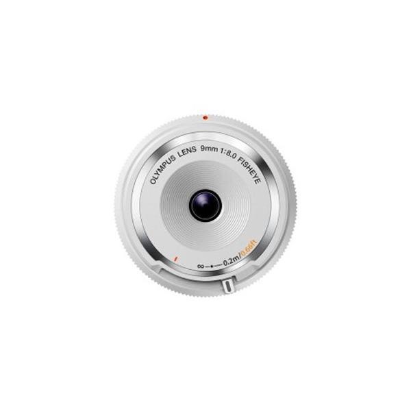 オリンパス フィッシュアイボディーキャップレンズ(9mm F8.0 Fisheye) BCL‐0980 (ホワイト)