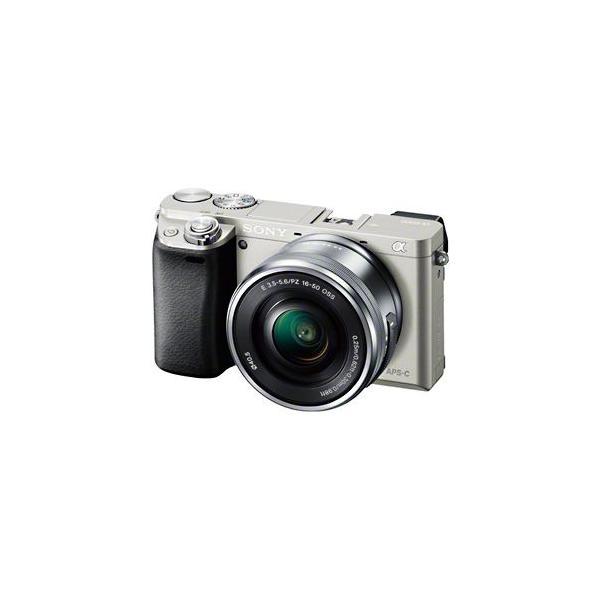 ソニー ミラーレス一眼カメラ「α6000」パワーズームレンズキット ILCE−6000L/S (シルバー)